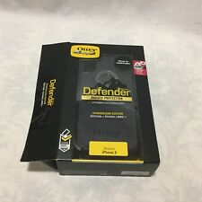 OTTER BOX DEFENDER SERIES IPHONE X CELL PHONE CASE / NEW IN OPENED BOX