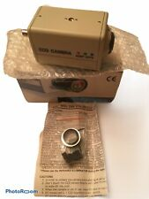 🔥 DSP Color CCD CCTV Camera HTC-66EL AC 24V SW Line lock OEM With Box 🔥