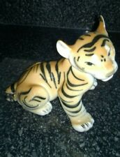 Vintage Lomonosov Russian USSR Tiger Porcelain China Figurine