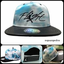 NIKE AIR JORDAN SNAPBACK CAP HAT BLUE CLOUD/BLACK FLIGHT JUMPMAN [789506 457]