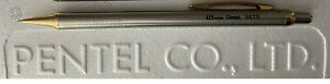 New Pentel Stainless Steel S475G 0.5mm Mechanical Pencil - Beautiful Pencil!