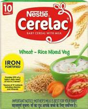 Nestle Cerelac Wheat-Rice Mixed Vegetable Cereal  (300 g, 10+ Months)