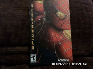 Spiderman 2 (Sony PlayStation PS2) Instruction Manual Only... NO GAME