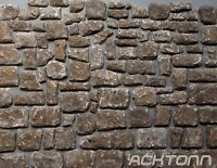 Diorama Multiscale Stone Wall FacingTexture Kit 1:100  1:35 1:16 Model Scenery
