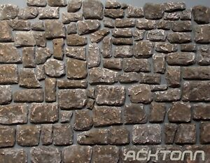 Diorama Multiscale Stone Wall Facing Texture Kit 1:100  1:35 1:16 Model Scenery