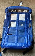 Doctor Who Public Call Police Box Tardis Backpack Bookbag Laptop Bag
