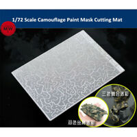 Camouflage Paint Mask Cutting Mat Model Building Tool for 1/72 AFV Model AJ0088