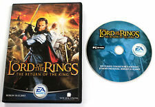 Gioco PC THE LORD OF THE RINGS RETURN KING PREMIERE PRESS KIT 2003 EA Games RARE