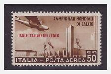 EGEO  1934   -   MONDIALI DI CALCIO   POSTA AEREA  CENTESIMI 50   NUOVO **