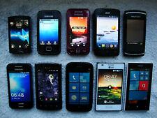 10 Handys Smartphone von Samsung Sony Xperia LG Acer Nokia