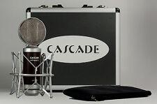 Cascade Fat Head II Ribbon Microphone Brown Body/Silver Grill w/Lundahl