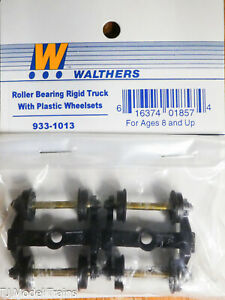 Walthers #933-1013 Roller Bearing Rigid Truck w/Plastic Wheelsets (Built up)
