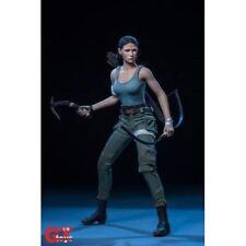1/6 Tomb Raider Lara Croft The Explorer Female Custom Figure Set Outfit Head