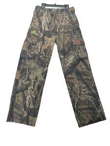 Mossy Oak Camouflage Hunting Pants Kids Boys Size XL (14-16)