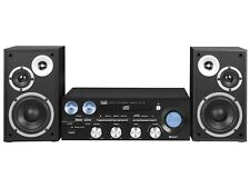 Trevi HF 1900 BT Sistema Hi-fi Bluetooth con CD Mp3 USB e Radio Nerotrevi0h19