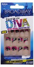 **LOOK** 2Pks Broadway Fashion Diva Nails (56678) BAFD04  SURREAL