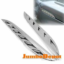 Chrome Air Side Hood Vent Trim for Suzuki Grand Vitara 2007 2008 2009 2010 2011