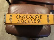 Vintage Chocolate Soldier Bottle Box By Sturdy Bilt Southern Wooden Box Ark NOS