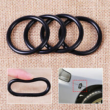 4pcs Black O-Rings Bumper Fender Quick Release Fastener Rubber Replacement Band