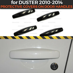 Protective Covers On Door Handles for Dacia/Renault Duster 2010-2014 ABS plastic