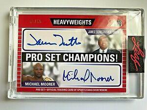 2021 Leaf Pro Set #09 James Smith & Michael Moorer Dual Autograph #43/45  SEALED
