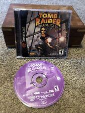 Tomb Raider Chronicles - Sega Dreamcast Cib Complete w/ Manual & Case Near Mint