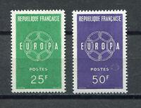 S10269) France 1959 MNH Europa 2v
