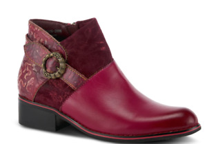 L'Artiste By Spring Step Tiatia Bordeaux Boots-NIB- Sz. 40 (EU) - FREE SHIPPING!