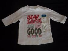 "NWT Boys 9M ""Dear Santa Just How Good Do I Have To Be?"" Christmas Shirt 9 Month"