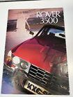 ROVER 3500 P6B V8 Car Sales Brochure For 1974 Series 2
