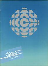 CBC STREET LEGAL PRESS KIT CYNTHIA DALE ERIC PETERSON C. DAVID JOHNSON SMITS