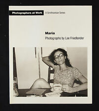 Lee Friedlander Maria New & Signed Photography Book