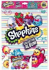 Shopkins OFFICIAL Collector Album SEASON 4 PLUS:2 Card Packs