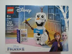 LEGO Disney Frozen II Olaf 41169 122 Pieces New Sealed In Box
