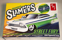 AMT Street Fury 1958 Plymouth Slammers SNAP 1:25 scale model car kit 1226