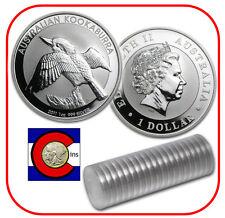 2011 Australia Kookaburra Full Roll (20) 1 oz Silver Perth Mint Australian Coins