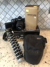 New listing Nikon D D5100 16.2Mp Digital Slr Camera - Kit w/ 18-55mm and 55-200mm lenses
