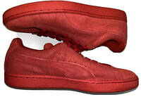 PUMA 361857-03 Mens Suede High Risk Red Athletic Shoes Size 8.5 NEW W/BOX
