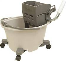 Quickie Ez-glide MOP Bucket With Wringer 5 Gal Capacity Plastic