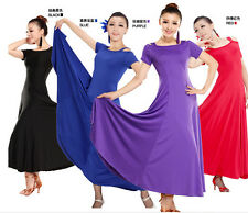 Latin Dance Dresses Tango Ballroom Salsa Waltz Competition Performance Dress NEW