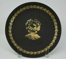 Wedgwood Mount St. Helens Plate Commissioned by Meier & Frank Portland Oregon
