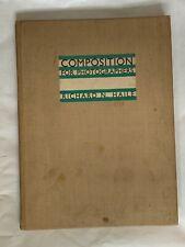 Composition for Photographers, by Richard N Haile, 1st Edition, Hardback Book