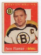 1X DON SIMMONS 1959 60 Topps #11 EX BOSTON BRUINS