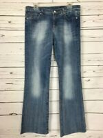 VIGOSS Boot Cut Medium Wash Premium Designer Denim Blue Jeans ~ Women's Size 11