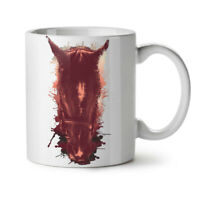 Horse Face Wild Animal NEW White Tea Coffee Mug 11 oz | Wellcoda