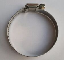 """(10) #36 STAINLESS STEEL DRIVE HOSE CLAMPS ADJUSTABLE BAND 1-3/4"""" TO 2-3/4"""""""