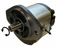 Hydraulic Gear Motor or Pump 8 cc/rev (0.488 in3/rev) 8.5gpm 21HP bi-direction