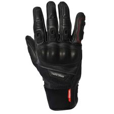 NEW Richa Men's Blast Summer Leather/Mesh Touch Screen Compatible Motorcycle Glo