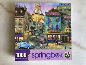 """1000 piece SPRINGBOK """"Eiffel Magic"""" Paris puzzle"""