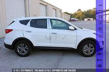 GTG, Fits 2013 - 2018 Hyundai Santa Fe Sport 8PC Chrome Stainless Steel Pillars